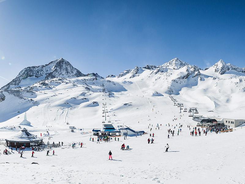 [Translate to IT:] Gamsgarten Stubaier Gletscher