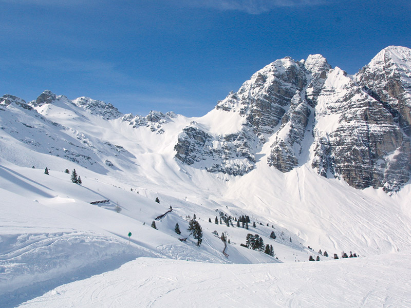 [Translate to IT:] Skigebiet Schlick 2000